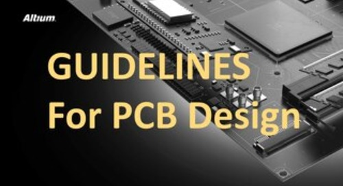 Guidelines for PCB Design