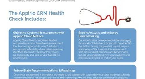 Appirio CRM Health Check