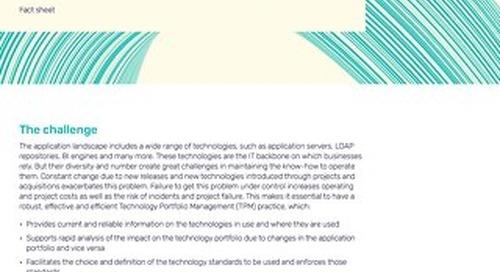 Alfabet for Technology Portfolio Management