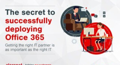 Claranet | The secret to successfully deploying Office 365
