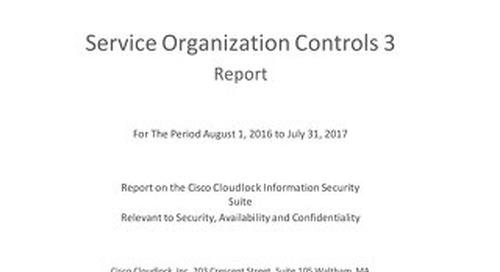 CiscoCloudLock_2017_SOC3_Report_Final 1 4