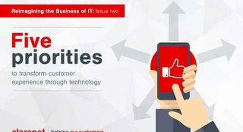 5 priorities to transform customer experience through technology