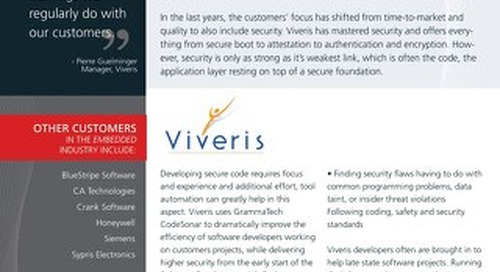 Viveris Case Study