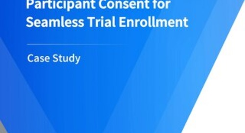 CRF Health Enables Easy Participant Consent for Seamless Trial Enrollment