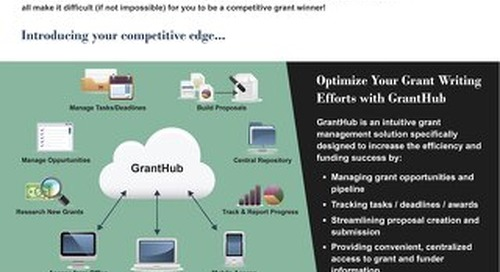 GrantHub Product Overview