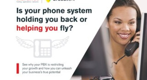 Is your phone system holding you back or helping you fly?