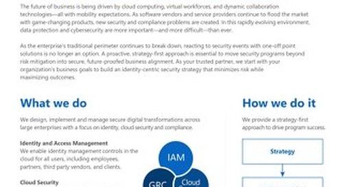 Edgile Overview - We Secure the Modern Enterprise