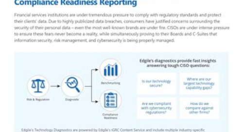 Edgile Technology Diagnostics for Financial Services