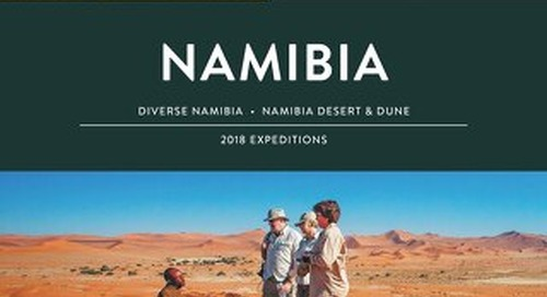 Namibia Expedition Guide 2018