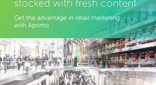 Keep your marketing shelves stocked with fresh content [Aprimo for Retail]