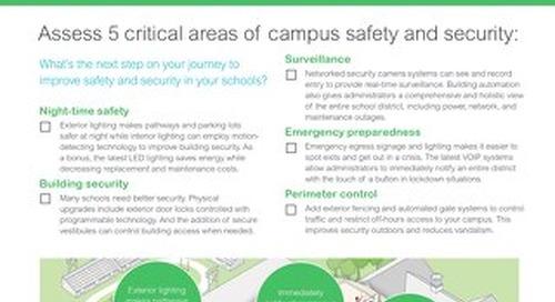K-12 Safety & Security Checklist