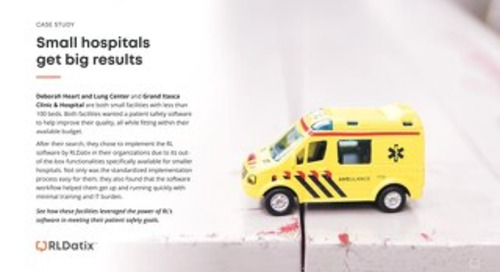 Case Study: Small Hospitals Get Big Results