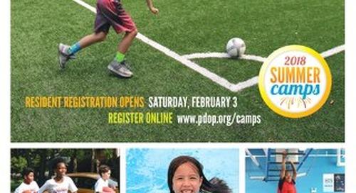 Park District of Oak Park Camp Guide 2018