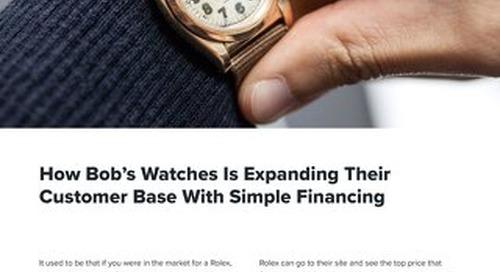 Bob's Watches Case Study