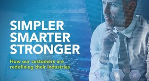 Simpler, Smarter, Stronger with Software AG
