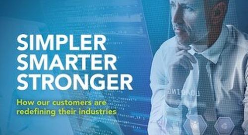 Simpler, Smarter, Stronger with Software AG