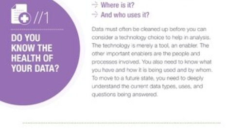 Make Sense of Your Data: Infographic