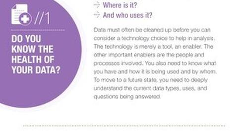 Make Sense of Your Data: Infographic