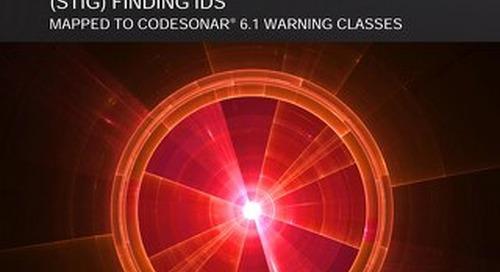 DISA-STIG | CodeSonar 5.0