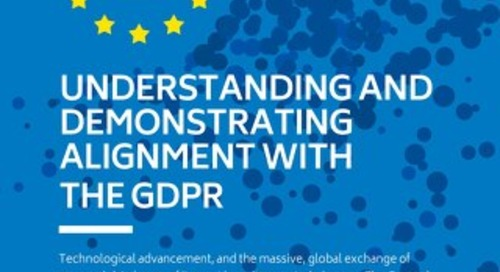 Understanding and Demonstrating Alignment with the GDPR