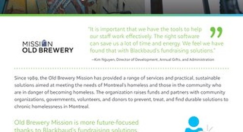 Old Brewery Mission Becomes Future-Focused