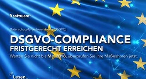 DSGVO-Compliance fristgerecht erreichen