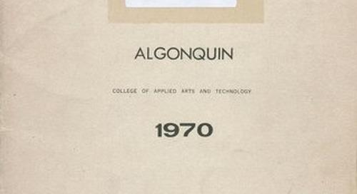Algonquin 1970