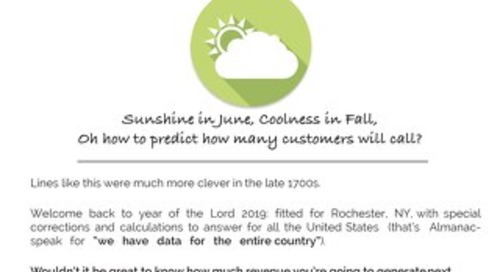 Service Forecast for 2018
