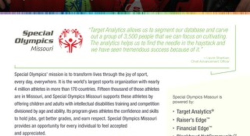 Special Olympics Missouri's