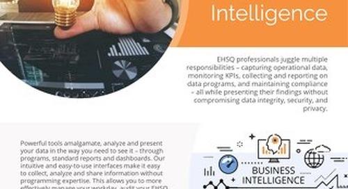 Product Sheet - Business Intelligence - November 2018