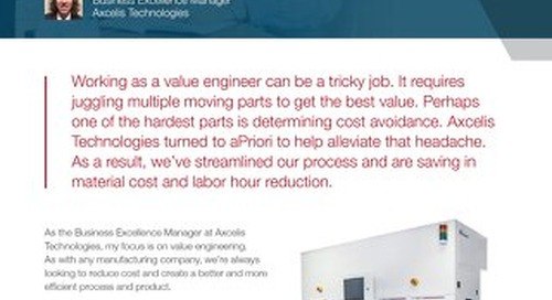How Axcelis Technologies Saved 10% on a Large Spend