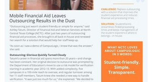 Mobile Financial Aid Leaves Outsourcing Results in the Dust