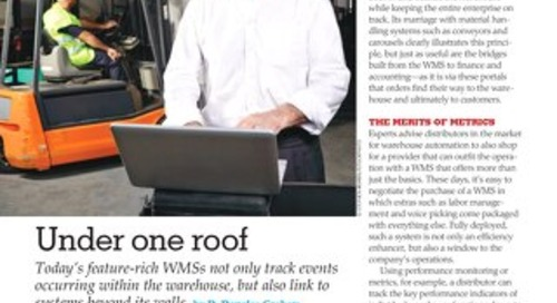 tED Magazine Article - Under One Roof
