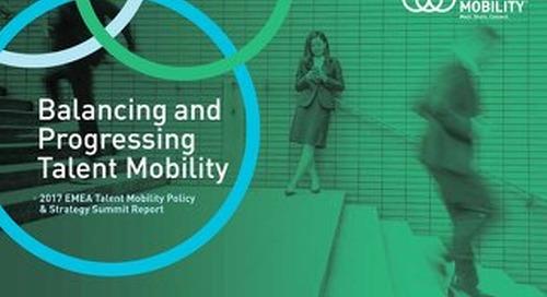 Balancing and Progressing Talent Mobility - EMEA Summit Report