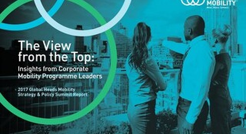 The View From the Top Global Heads Summit Report