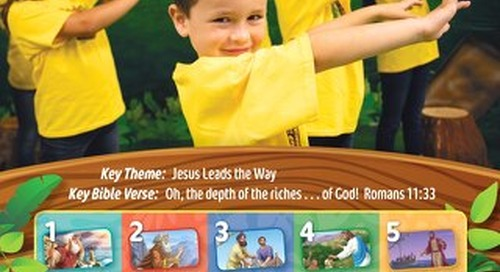Opening Closing Leader Guide - Sample Pastor's Overview Sample | Splash Canyon VBS 2018
