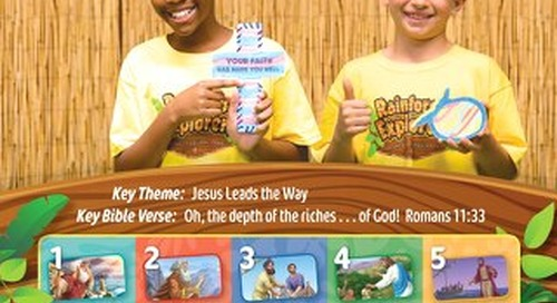 Crafts Guide Sample | VBS 2020