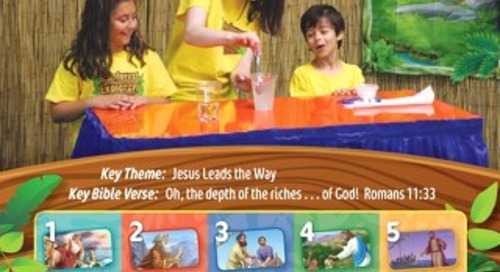 Bible Challenge Guide Sample | VBS 2020