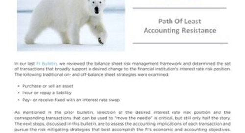 POLAR – Path of Least Accounting Resistance