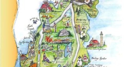 Door County Coastal Byway Coloring Book