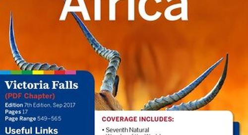 travel guide Victoria Falls