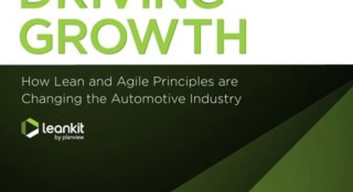 Driving Growth - How Lean & Agile Principles are Changing the Automotive Industry
