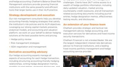 Optimize Your Balance Sheet With Accounting-Friendly Hedging Strategies That Meet Your ALM Objectives
