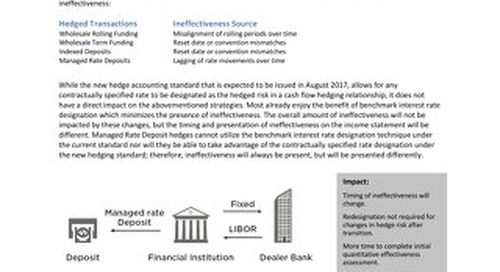 Liability-Sensitive Financial Institutions – Improvements to Cash Flow Hedge Accounting