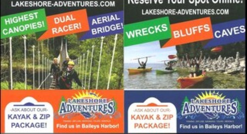Lakeshore Adventure Center Brochure