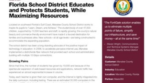 Case Study: Manatee County School District