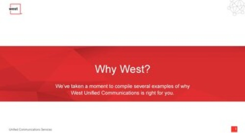 Why West?