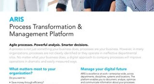 Process Transformation & Management