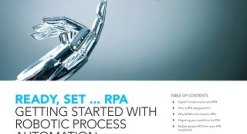 Getting started with RPA