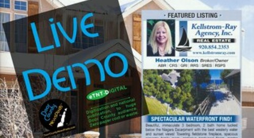 Door County Homes Guide Book Demo DC Advocate